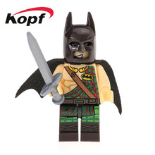 Buy 20Pcs Super Heroes Star Wars Tartan Batman Catman Joker Movie Bricks Building Blocks Best Collection Toys children XH 513 for $14.40 in AliExpress store