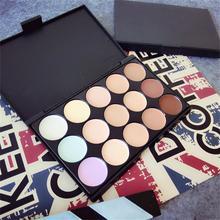15 colors Face Concealer Neutral Palette 15 color Makeup tools scar cream Face Camouflage Body Foundation