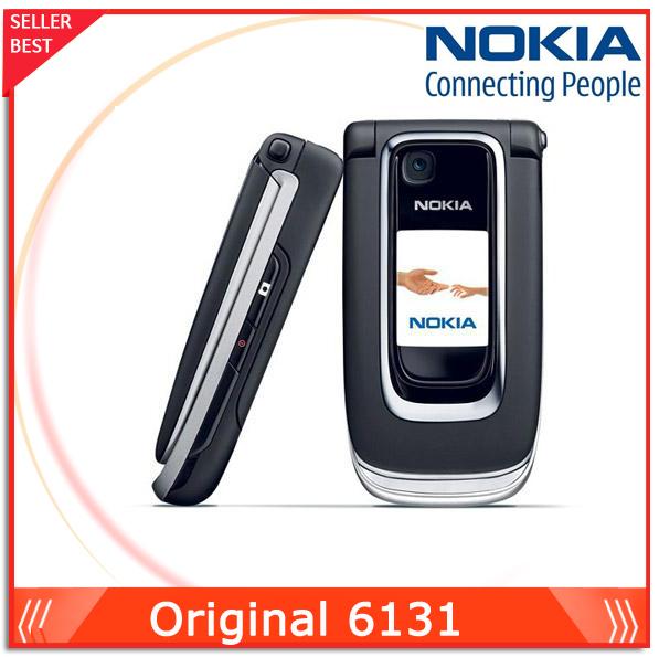 Unlocked 6131 Original Mobile phone Nokia 6131 Cheap GSM Camera FM Bluetooth Good Quality Phone(China (Mainland))
