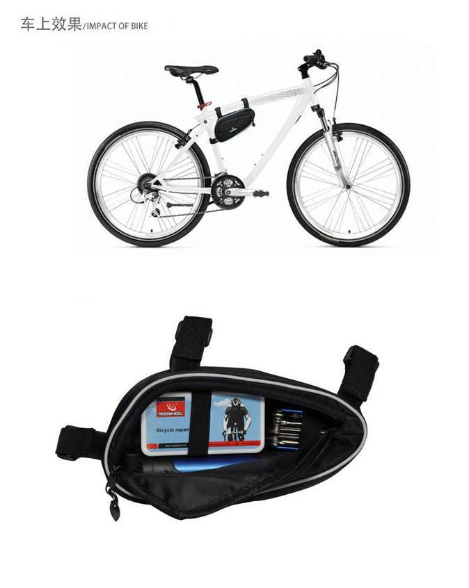 Outdoor Sports Bicycle Repairing Kit Set Multifunctional Cycling Bicycle Bike Frame Bag MTB Pump Tire Set Hand Tool