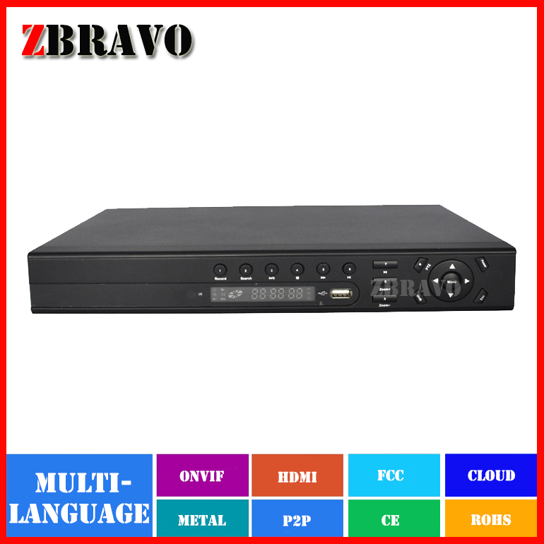 H.264 Full HD1080P Stand alone 8CH CCTV NVR HDMI iCloud IP Network Security Surveillance Video Recorder Plug and Play Onvif 2.0(China (Mainland))
