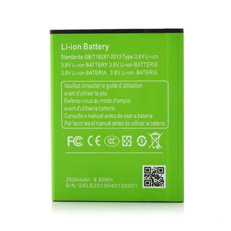 In Stock Original Mobile Phone Battery 2500mAh For Mizo I9 Plus Octa Core MTK6592 5.5 Inch Cell Phone(China (Mainland))