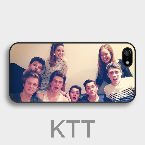 Britannico YouTubers Tpu Nero cell phone bags case cover for 4S 5C 5S SE 6S 7 Plus IPOD Samsung NOTE IPOD Touch 4 5 HTC SONY(China (Mainland))
