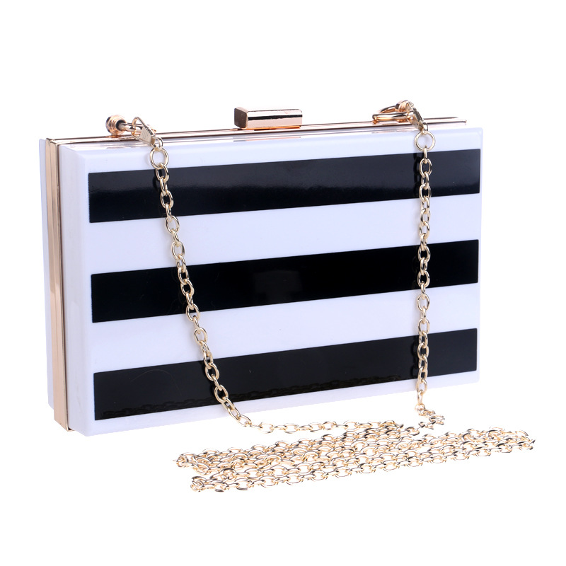 Women Small Mini Shoulder Bags Crossbody Black White Clutch Ladies Evening Bag for Party Day Clutches Purses and Handbag US009(China (Mainland))