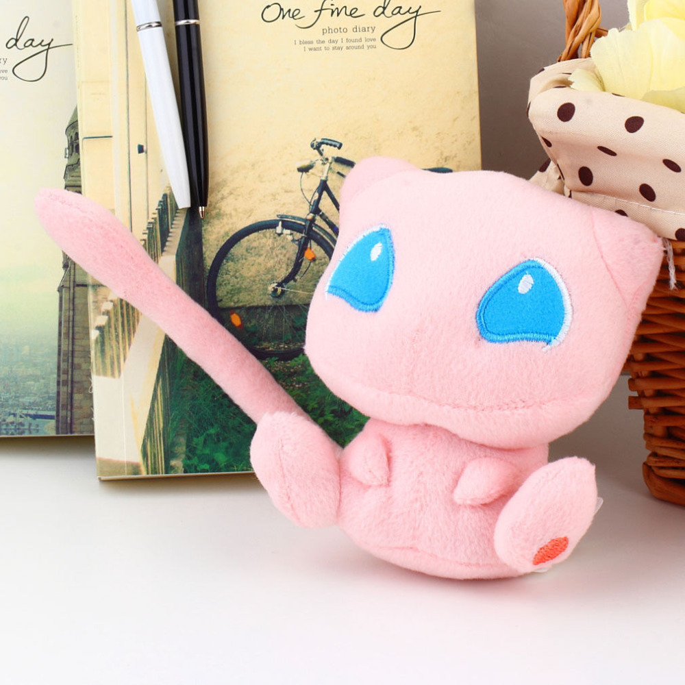 Nintendo Peluche Pokemon Rare Mew Plush Soft Doll Toy Gift Stuffed Animal Game Collect YHJ15090104