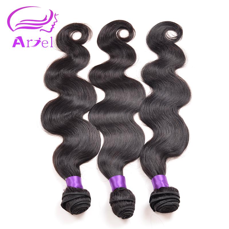 Peruvian Virgin Hair Body Wave 3 Bundles Peruvian Body Wave 8-30inch Body Wave Hair Virgin Peruvian Hair Bundles #1B Human Hair <br><br>Aliexpress