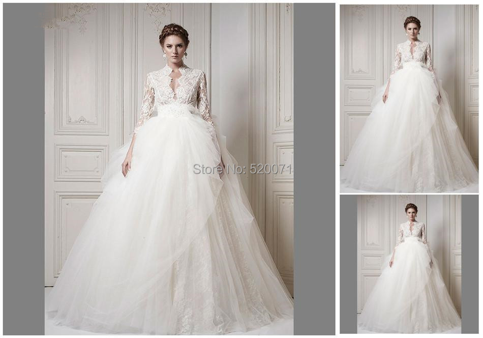 Sexy empire cap sleeve court train backless white ivory for Backless wedding dresses designer