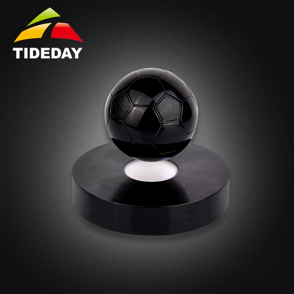 Football type Football Magnetic levitation speaker MINI Blutooth Speaker Wireless Bluetooth 4.0 Floating Rotating Speaker<br><br>Aliexpress