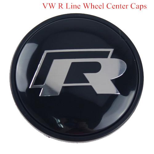 Brand New 4Pcs/lot 65mm VW R LINE Wheel Hub Center Cap Cover Emblem GOLF PASSAT CC SCIROCCO TOURAE 65mm Part Number# 3B7601171(China (Mainland))