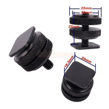 New Pro Type 1 4 20 Tripod screw to Flash Hot Shoe Adapter FREE SHIPPING