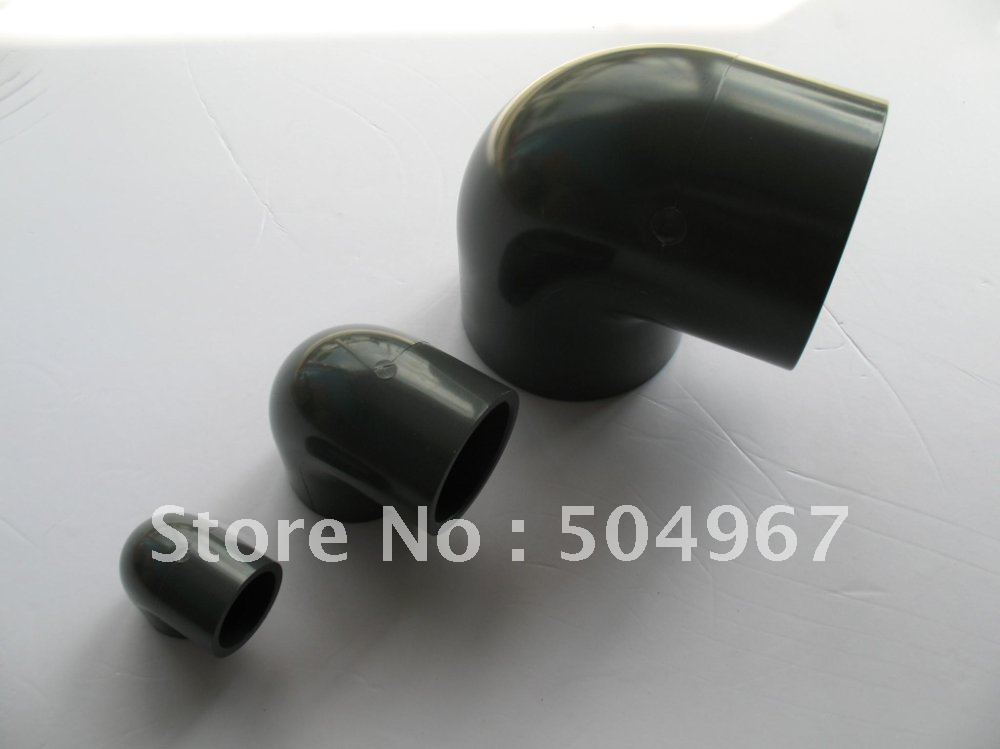 "pipe fittings / pvc pipe fittings/upvc 90 degree elbow 5""/ DN125(China (Mainland))"
