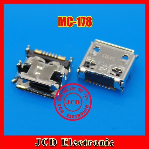 100% original.200CPS/lot for Samsung S7562I S7572 i699 S7568 S7572  USB charging port,data port,USB Jack socket connector