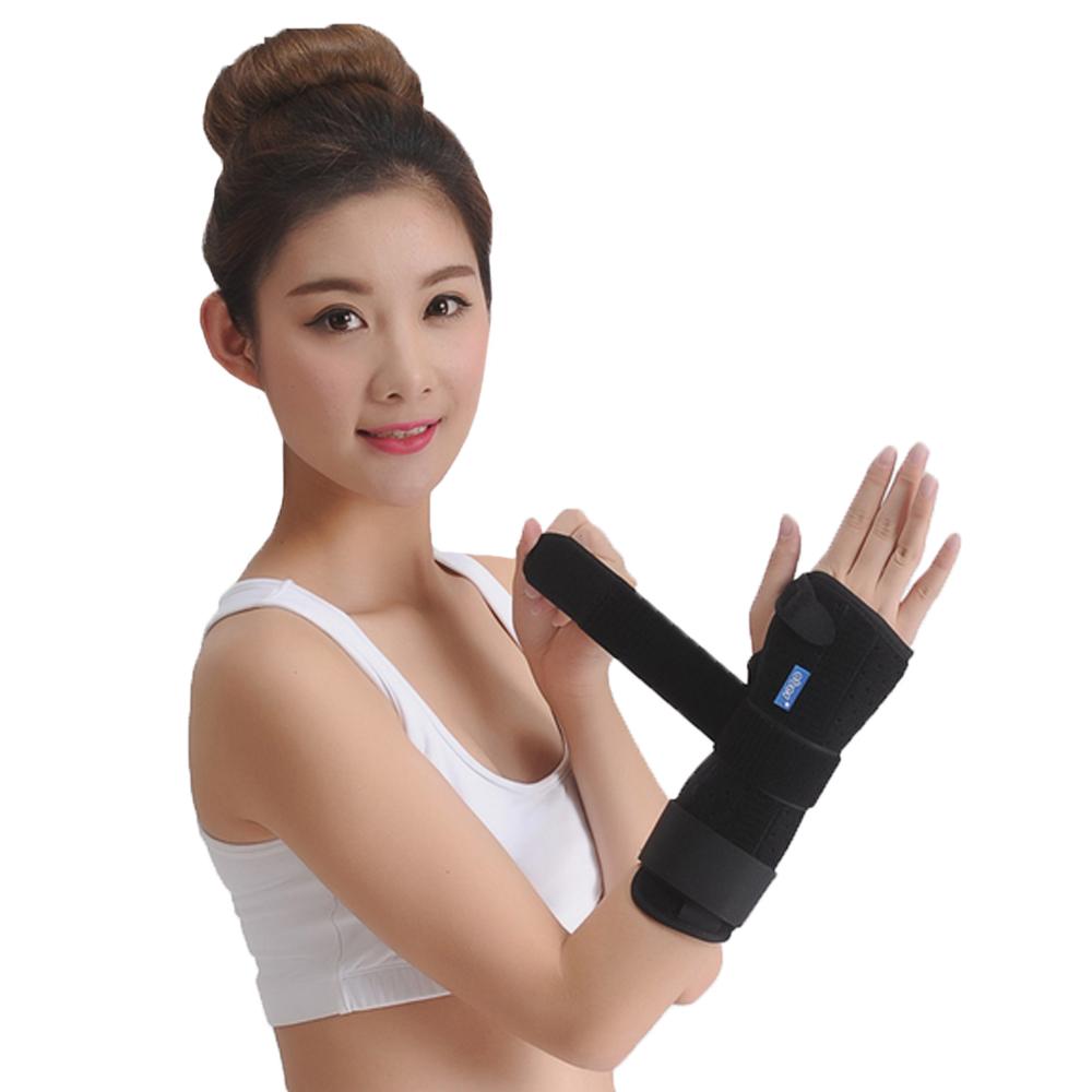 Free shipping wrist fixed splint wrist support wrist joint brace for loose wrist joints