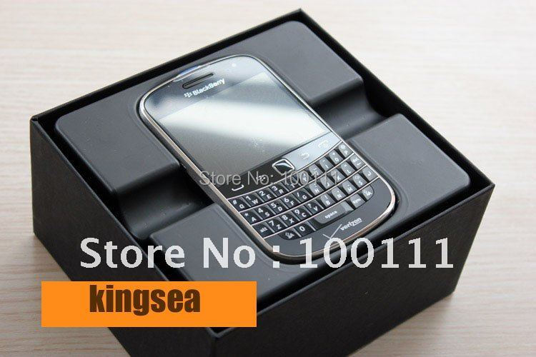 100% Original Blackberry Bold Touch 9930 WIFI QWERTY Keyboard Unlocked Cell phone FREE SHIPPING(Hong Kong)
