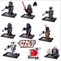Star Wars explosion models assembled toys parent child interaction Force arousal earners people building blocks free
