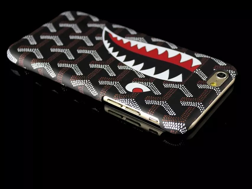 2016 cute shark with a deer Phone Case for iphone66splus, For iphone6splus 5.5inch Critter Design PC Hard Case