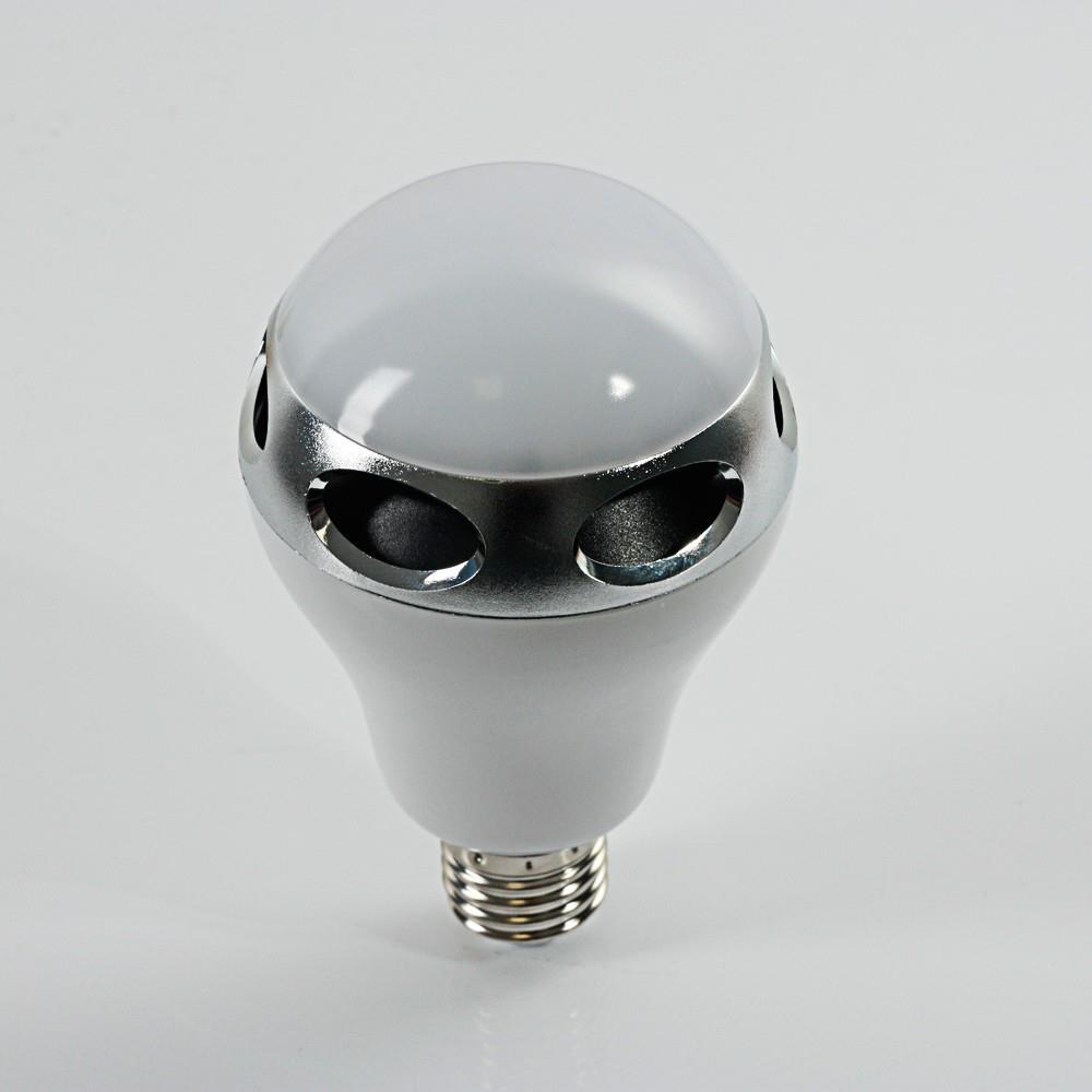 Wireless bluetooth 4 0 audio bb speaker music player led for Best bluetooth light bulb speaker
