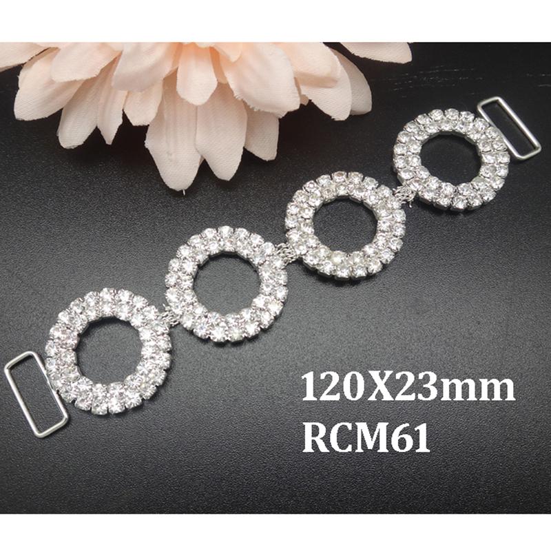 10pcs 4.7inch  rhinestone connector Bikini Connectors Crystal connectors  RCM61