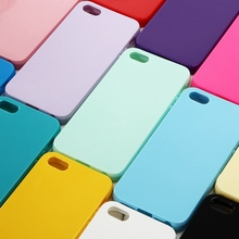 Buy Cute Solid Candy Color TPU Case iPhone 5 5S Silicone Soft Case iPhone 5S Protective Rubber Cover iPhone SE for $2.78 in AliExpress store