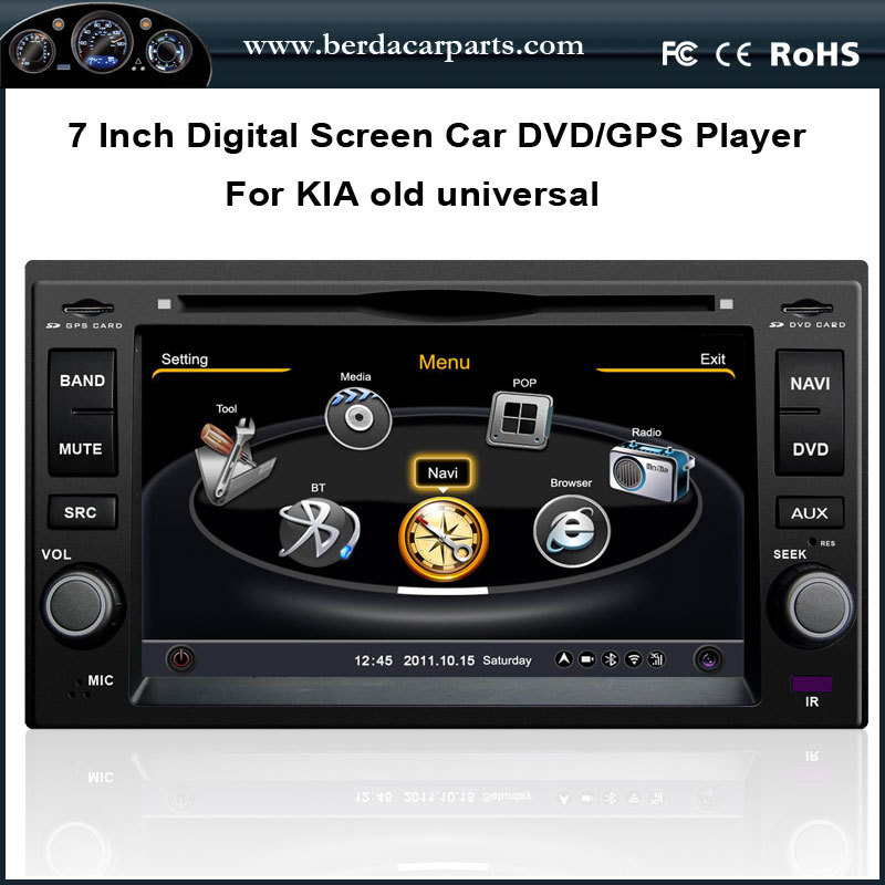 Universal font b Car b font DVD For KIA SPORTAGE CERATO CARENS With GPS Radio BT