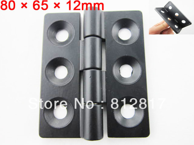 "Black 0.28"" Screw Cabinet Window Door Butt Hinge Replacement(China (Mainland))"
