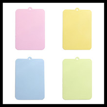 Set of 4, Food Grade Plastic Cutting Board Chopping Blocks for Vegetable Meat Fruit kitchen Accessories Cooking Tool