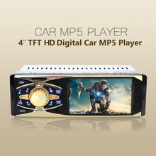 Universal Radio Player Car MP5 Video Player HD TFT Screen Bluetooth Remote Control 4.0 Rear view Stereo /MP4/AUX/FM/USB/SD/MMC(China (Mainland))