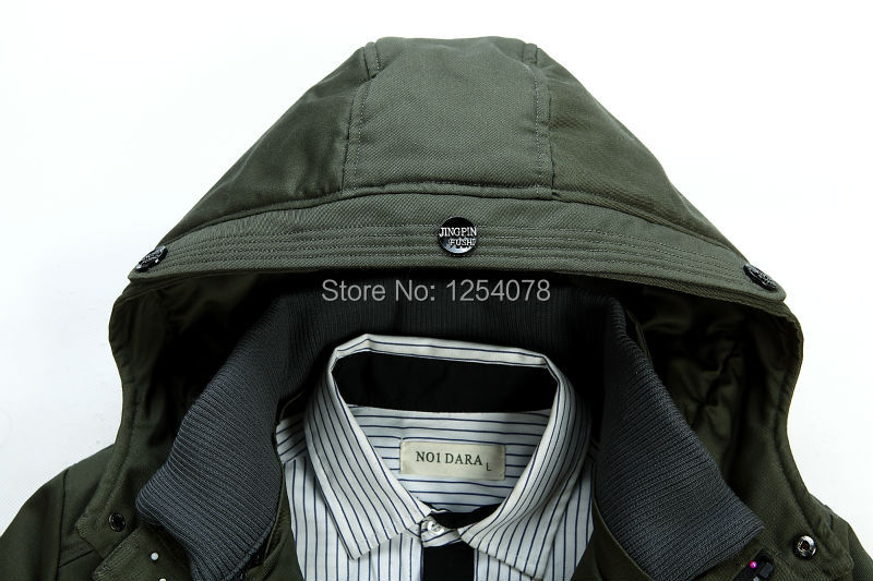 Free shipping 2014 business hooded winter duck down jacket men brand and winter clothes men winter