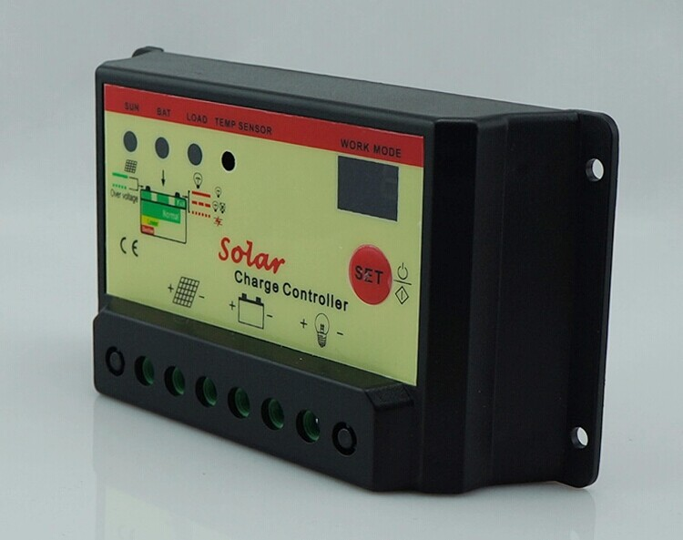 The new solar controller 10A automatic conversion 12V/24V solar power controller street lamp type(China (Mainland))