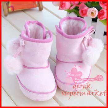 free shipping soft baby shoes for girls ,leather baby shoes