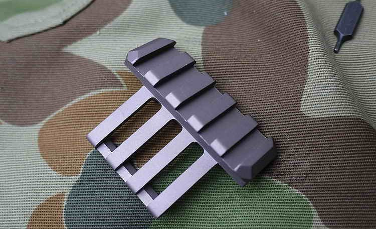 Alloy Metal Multi-angle rail tactical rack for OPS-CORE Helmet(China (Mainland))