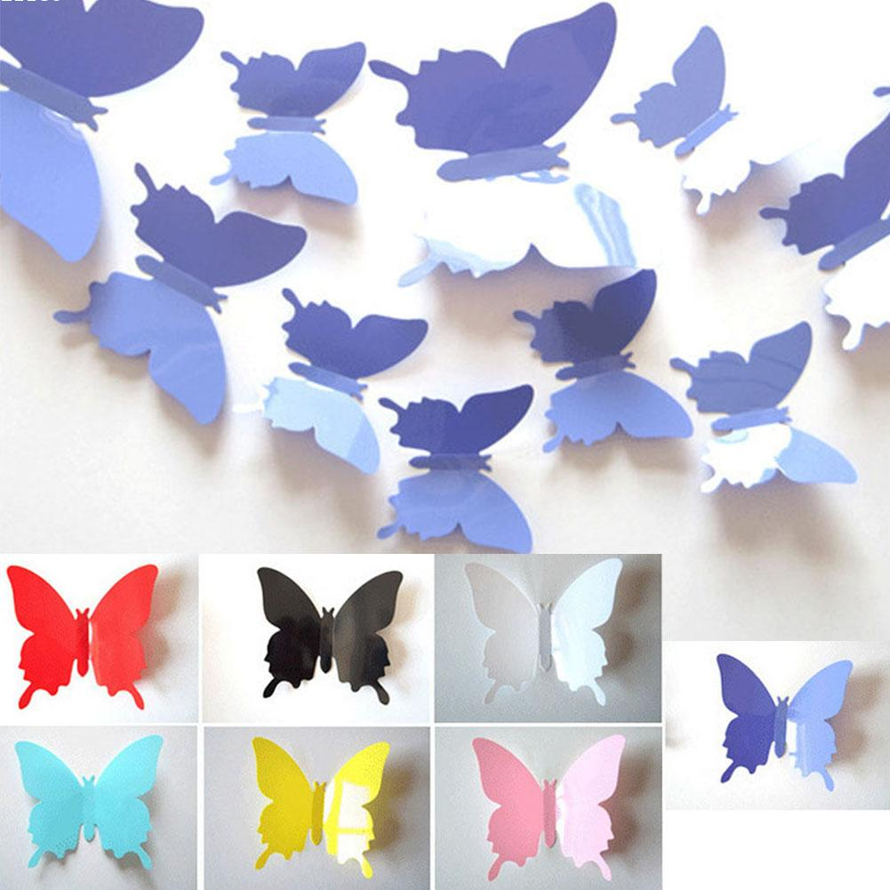 Бумажные бабочки для стен своими руками