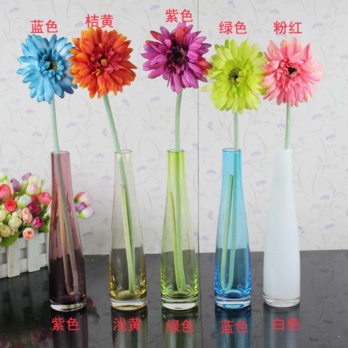 Cheap Fashion fashion glass vase modern decoration home accessories desk decoration flower(China (Mainland))