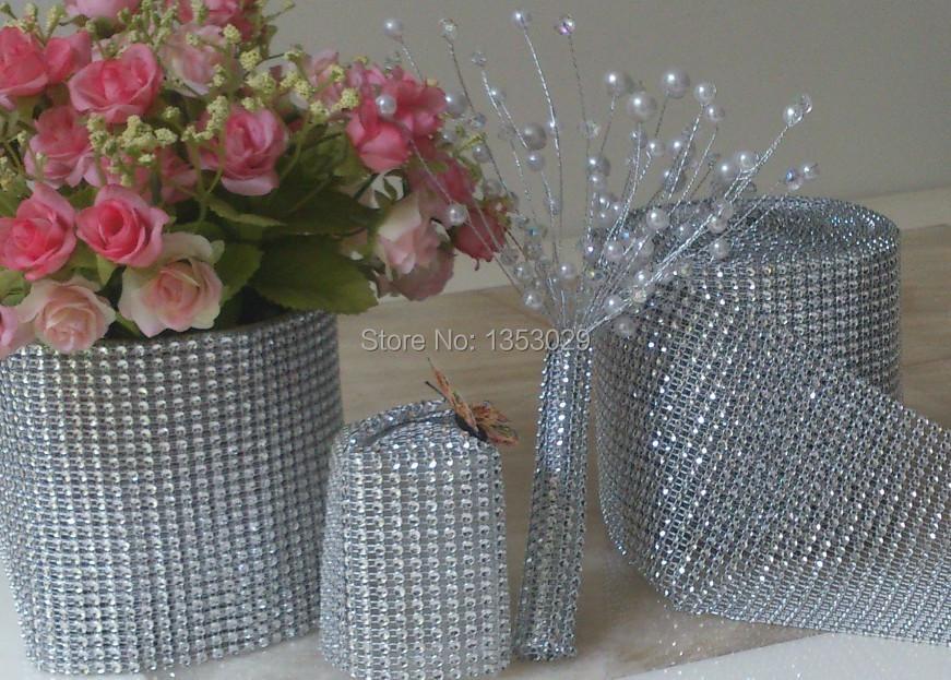 silver diamond mesh roll.JPG