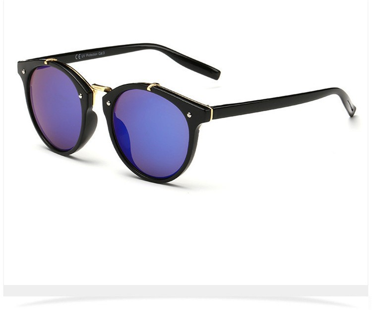 2016 Classic Brand Designer Sunglasses Women Men Retro Round Sun Glasses Woman shades Mirror Eyewear Lady Male Female Sunglass (30)