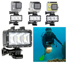 Buy GoPro Accessories Underwater Light Diving waterproof LED video light+Battery&buckle mount GoPro Session/Hero4/3+/3/Xiaomi Yi for $18.35 in AliExpress store