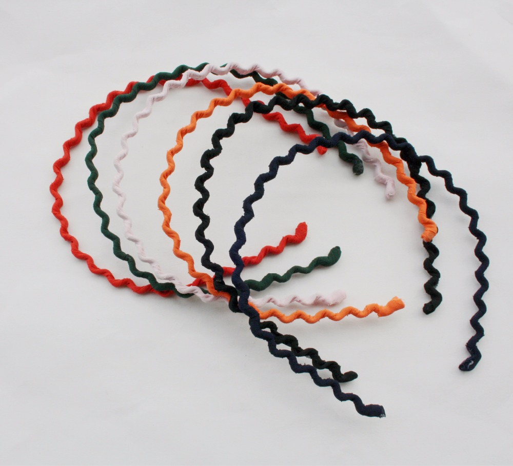 2015 The New Tire Snow Spins Cloth Winding Hair Band By Hand Fine Bubble Surface Wave Band Hair Hair #M0015 Free Shipping(China (Mainland))