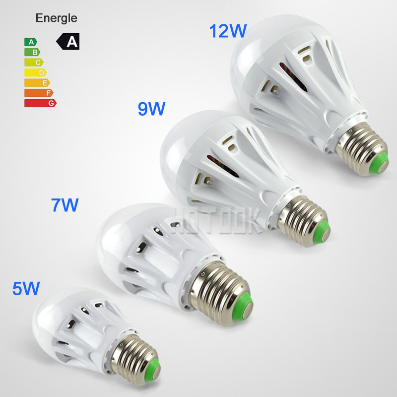 220V indoor Lighting home 5W 7W 9W 12W 5730 LED Bulb umbrella led Lamp E27 Led lights lamparas Bombillas CE ROHS x 1 - HOTOOK Official Store store