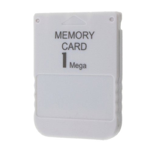 Best Promotion White 1MB 1M Memory Save Saver Card For Sony Performance For Playstation One For PS1 PSX Game System Wholesale(China (Mainland))