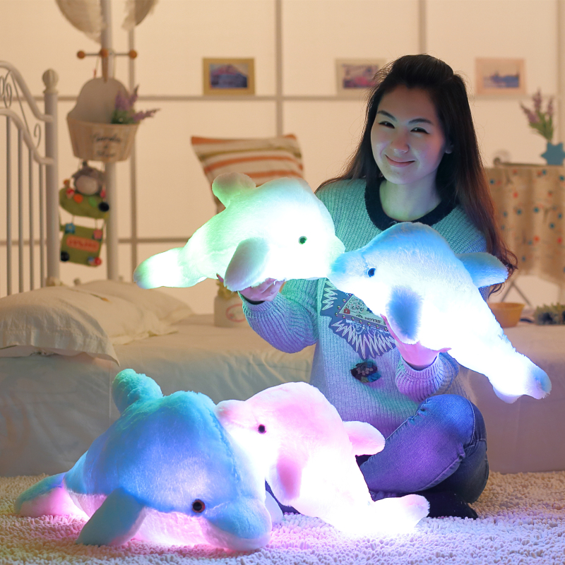 45cm-Luminous-Flashing-Colorful-Dolphin-Pillow-With-LED-Light-Soft-Toy-Cushion-Plush-Stuffed-Doll-For (6)