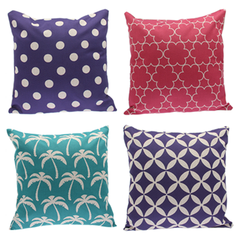 2015 Fashion Waist Throw Pillow Covers 45cm*45cm Decorative Cusion Cover Pillows Cases For Sofa ...