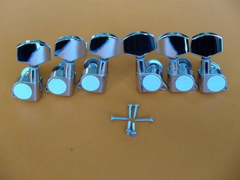 3L+3R Chrome  guitar tuning pegs machince heads for Lespaul guitar