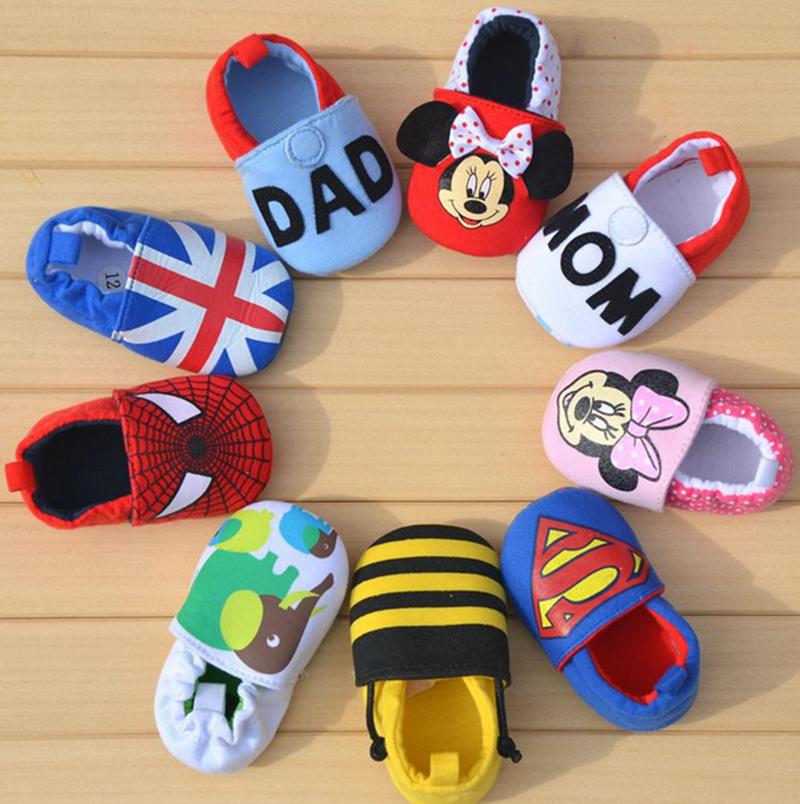 Baby Newborn Shoes Slip Kids Shoes Cartoon Prewalker Soft Bottom Bebe Infant Shoes First Walkers Fashion Shoes<br><br>Aliexpress