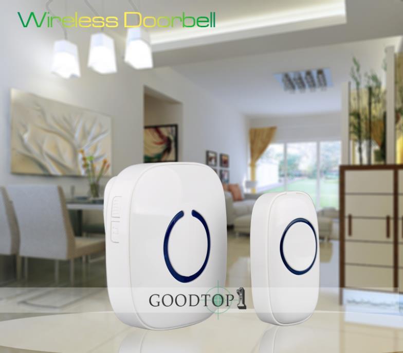 Гаджет  110V 220V doorbell chimes,door alarm,  52 Melodies 300M Transmission Waterproof Digital Electronic Wireless Doorbells(PML0C1) None Аппаратные средства