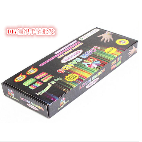 DIY Loom Rubber Bands Weaving Machine Woven Bracelet Suit Children Garden - Boss xiao's store