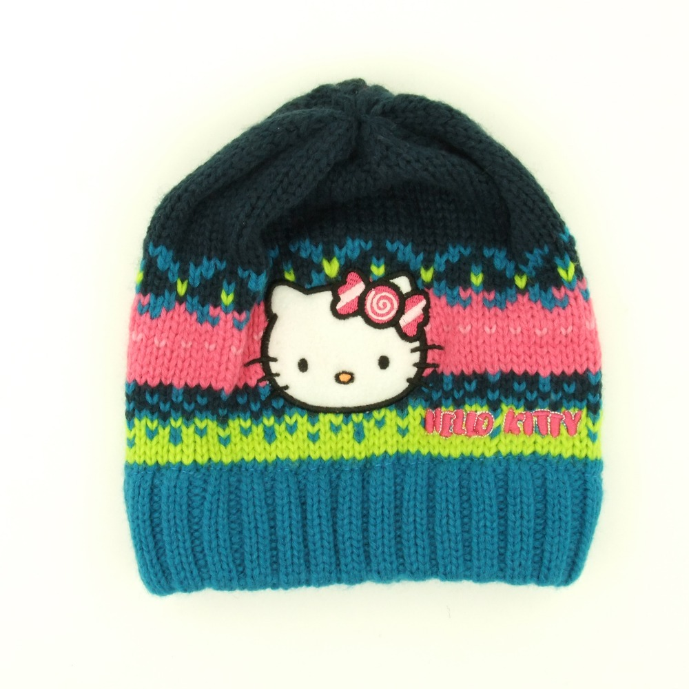 Popular Hello Kitty Knit Hat-Buy Cheap Hello Kitty Knit Hat lots from China H...