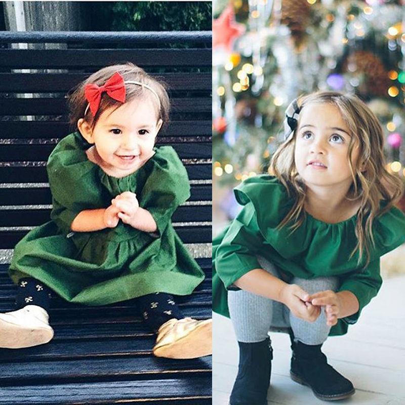 Kid Toddler Cheap Old Fashion Baby Girls Clothes Golilla Dress Skirt 1 to 6T(China (Mainland))