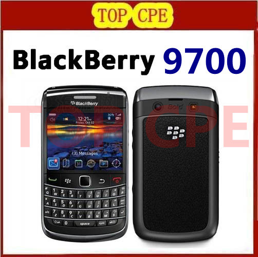 9700 Unlocked valid pin blackberry mobile phone bold 9700 original Refurbished Blackberry Camera 3.15 3G One year warranty(China (Mainland))