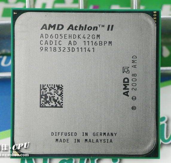 Free shipping AMD Athlon II X4 605e 2.3GHz Socket AM3 938-pin Processor 65W Dual-Core 2M Cache 45nm CPU scrattered pieces(China (Mainland))