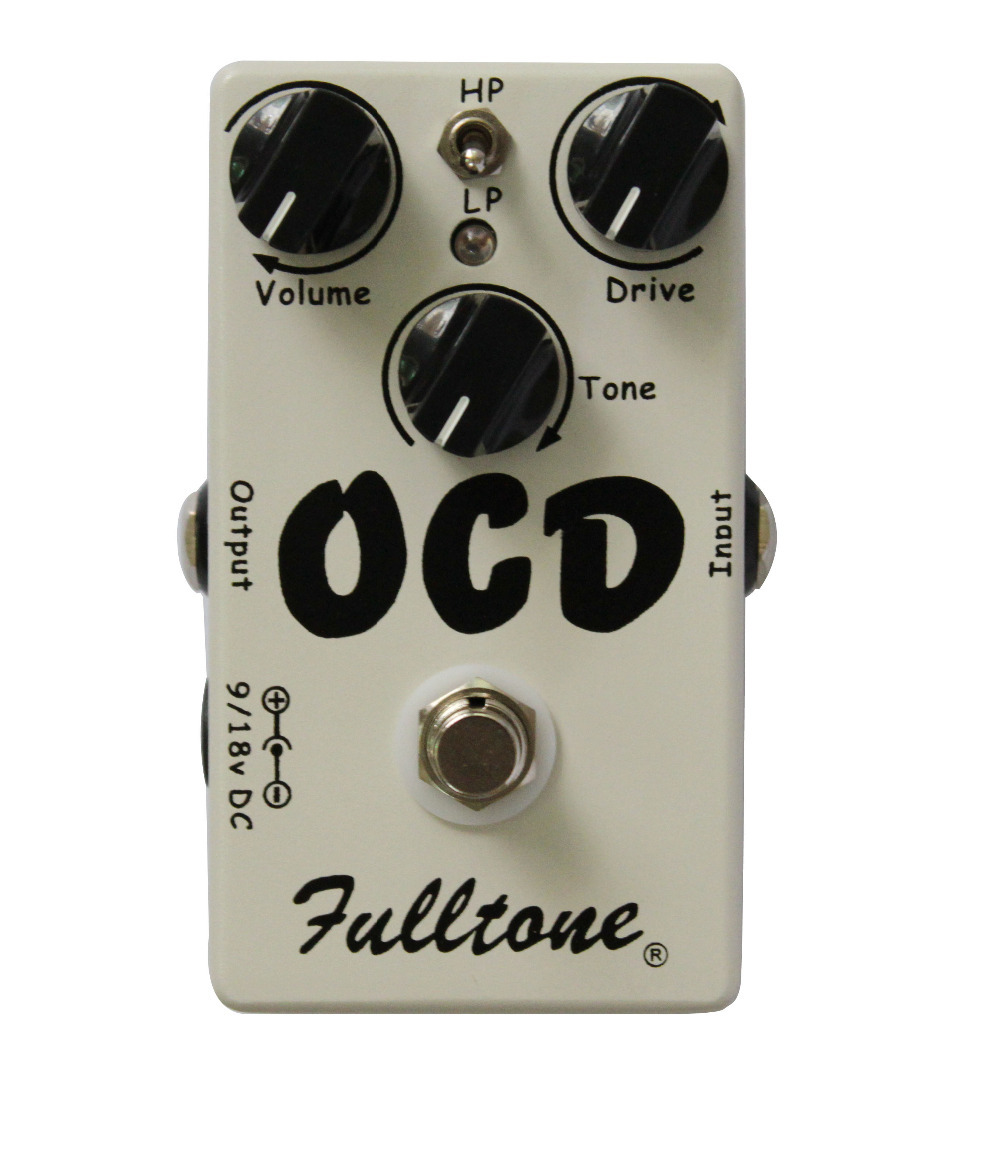 OCD Guitar Effect Pedal -Distortion And Ultimate OverDrive And True Bypass(China (Mainland))